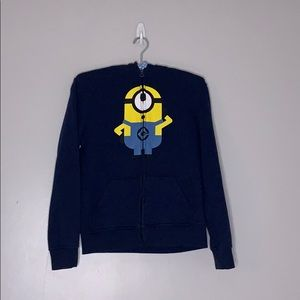 Epic Threads Despicable Me Minion Hooded Zip Up